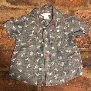 Bicycle button up